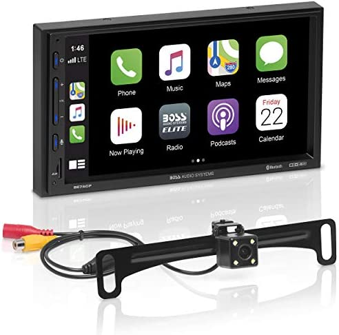 BOSS Audio Systems Elite BE7ACP C Car Multimedia Player with Apple CarPlay Android Auto 7 Inch product image