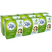 Puffs Plus Lotion Facial Tissues, 96 To-Go Packs, 10 Tissues Per Pack