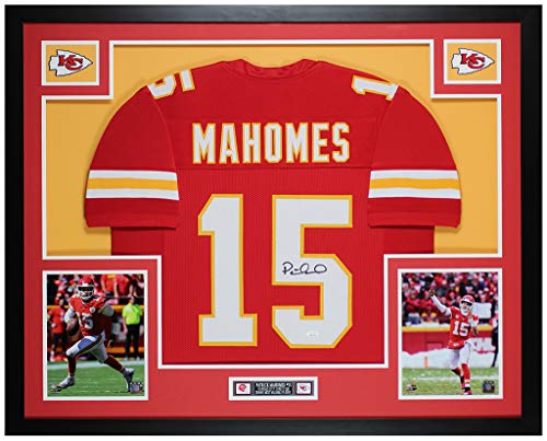 Eric Berry Kansas City Chiefs NFL Hand Signed Authentic Style Red Jersey