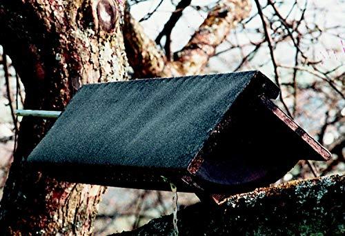 Naturschutzprodukt Steinkauz Nistkasten Nisthöhle Steinkauzröhre Typ 22 (Schaukelröhre) Flugloch Durchmesser 64 mm mit Marderschutz aus Holzbeton Länge 93 cm