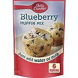 Betty Crocker Blueberry Muffin Mix, 6.5 oz, (Pack of 9)