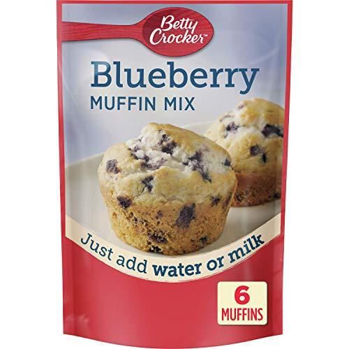 Betty Crocker Blueberry Muffin Mix, 6.5 oz (Pack of 9)