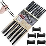 Huahuanghui Japanische EssstäBchen, Waschbar Chopsticks, Chinesische EssstäBchen Set, 5 Paare...