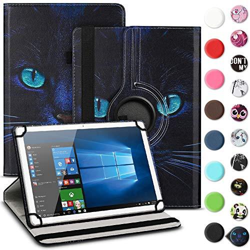 UC-Express Tablet Schutzhülle kompatibel für Archos 70 Xenon - Oxygen Tasche aus hochwertigem Kunstleder Hülle Standfunktion 360° Drehbar Cover Universal Case, Farben:Motiv 6