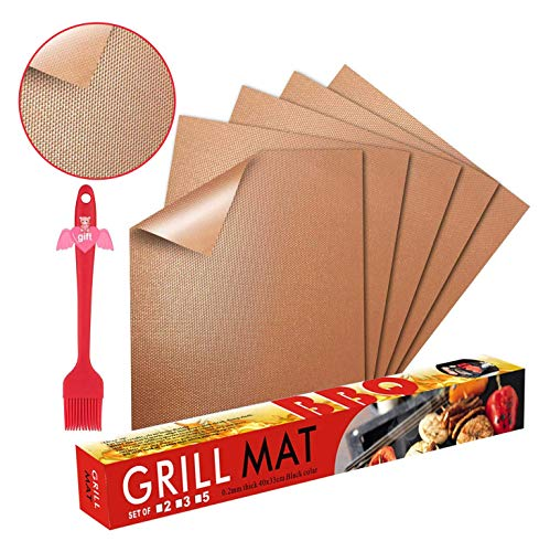 Fly5D BBQ Gril Mat (Copper)