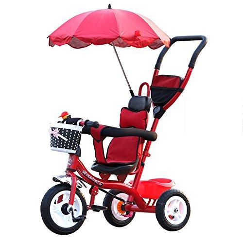 Fiets LVZAIXI- 4 in 1 Smart Kids driewieler 3 Wielen Multi Positie Kinderen Baby Rijden Op Trike Bike Tricycle Out