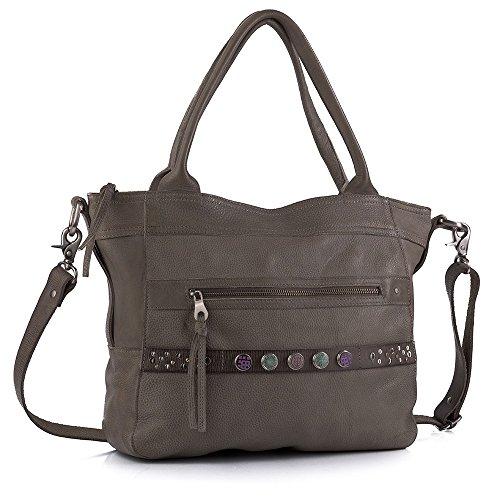 Noosa Handtasche Bag Classic Shopper grey