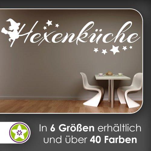 Kiwistar Hexenküche Wandtattoo in 6 Größen - Wandaufkleber Wall Sticker
