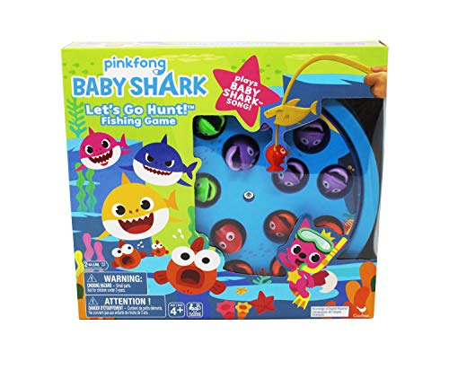 Cardinal Games 6053381 CGI KGM Baby Shark Fishing Game GBC, Multicolour
