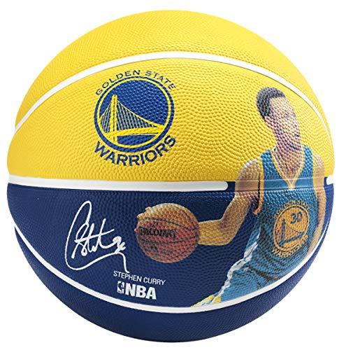 Spalding NBA, Pallone da Basket, 83343, Gold/Blue