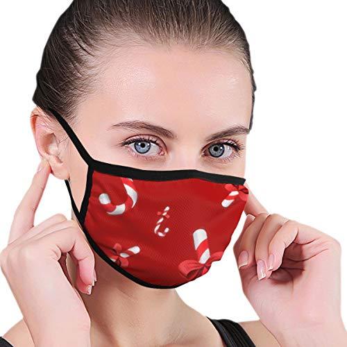 Preisvergleich Produktbild Unisex Anti-Staub Mundmaske Weihnachtsdekoration Candy Wiederverwendbare Gesichtsmaske für Kinder Teenager Männer Frauen
