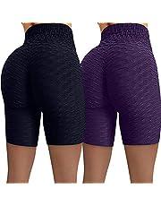 CXDS Vrouwen Hip Hoge Taille Yoga Broek Afdrukken Workout Running Gym Lifting Fitness Sport Shorts