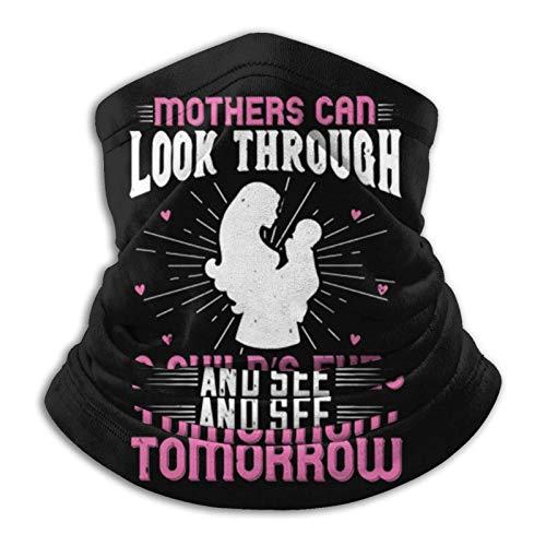Overlooked Shop Pasamontañas Las Madres Pueden Mirar a través de un niño S E Cubierta para el Cuello Polaina para el Cuello Pasamontañas Multifuncional Bandana Outdoor