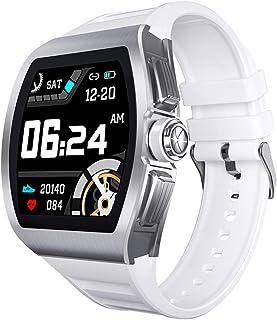 TIANYOU M1 Smart Watch Hombres 24 Horas Monitor de Ritmo Cardíaco Ip68 Smartwatch Impermeable para Android Ios Watch Sport Alloy Funda Desgaste diario/E