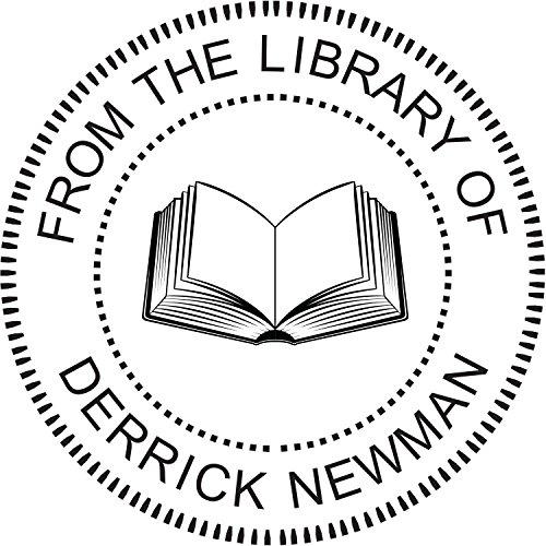Custom Library Stamp - Style LIB013B