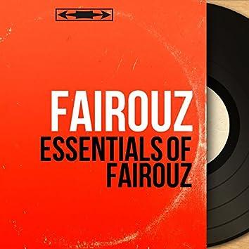 Essentials of Fairouz (Mono Version)