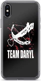 iPhone 6 Case iPhone 6s Case Clear Anti-Scratch Team Daryl Dixon The Walking Dead, Daryl Cover Phone Cases for iPhone 6/iPhone 6s, Crystal Clear