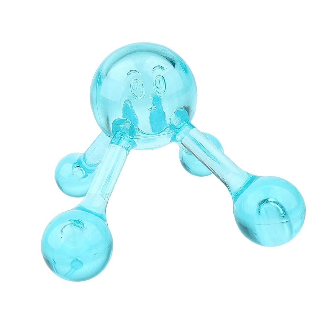 ライブ出くわすヒゲクジラBaoblaze ネック ショルダー バック マッサージボール マニュアル ローラーマッサージャー プラスチック製