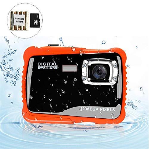 BABIFIS onderwatercamera voor kinderen 12MP HD onderwatercamera camcorder met 8-voudige digitale zoom en 2,0-inch LCD-display