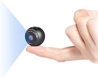 Spy Camera Wireless Hidden, NIYPS 1080P HD Mini Portable Small Secret Covert Nanny Camera with Night Vision and Motion Det...