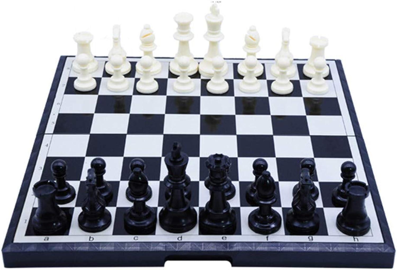 tiendas minoristas HHXWU Ajedrez Ajedrez King King King Talla Estéreo Plegado magnético Exclusivo Juguetes vigorizantes, ajedrez  mejor oferta