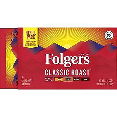 Folgers Classic Roast Medium Roast Ground Coffee