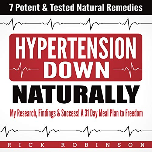 Hypertension Down: My Research, Findings & Success! audiobook cover art