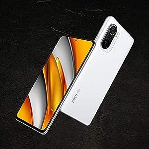 """POCO F3 5G - Smartphone 6+128GB, 6,67"""" 120 Hz AMOLED DotDisplay, Snapdragon 870, cámara triple de 48MP, 4520 mAh, Blanco Ártico (versión ES/PT), incluye auriculares Mi"""