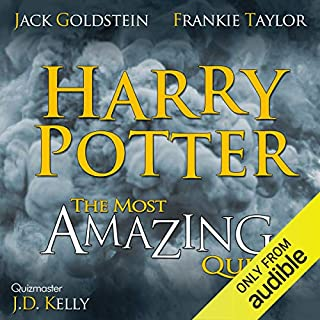 Harry Potter - the Most Amazing Quiz audiobook cover art