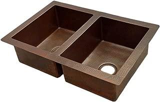 Double Bowl Copper Sink