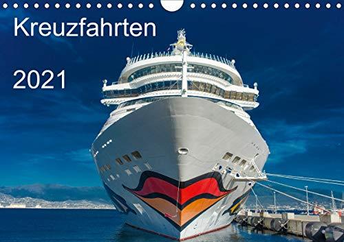 Kreuzfahrten 2021 (Wandkalender 2021 DIN A4 quer)