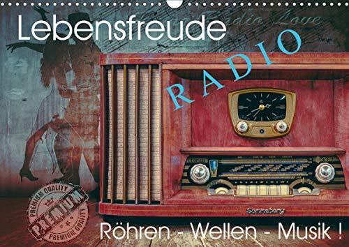 Lebensfreude Radio (Wandkalender 2021 DIN A3 quer)