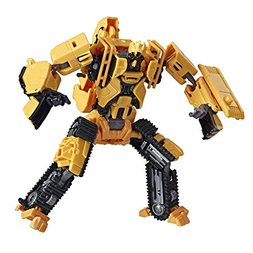 Transformers Toys Studio Series 41 Deluxe Class Revenge of The Fallen Movie Constructicon Scrapmetal Action Figure - Ages 8 and Up, 4.5-inch