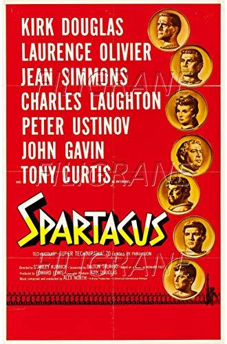 PostersAndCo TM Spartacus Rnvc-Poster/Reproduktion, 40 x 60 cm, 1 Poster Vintage/Retro