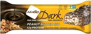 Nugo, Bar Box Dark Peanut Butter Cup, 1.76 Ounce, 12 Pack
