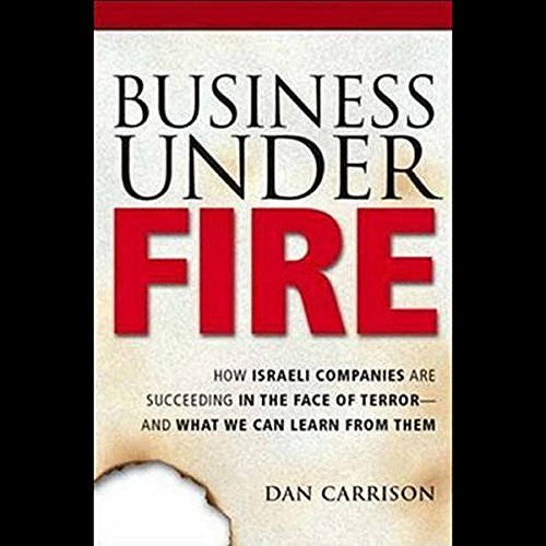 Business Under Fire audiobook cover art