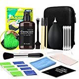 Cleaning Kit for Laptop,PC TV Screen Microfiber Cleaning Cloth Swabs & Case for Electronic Devices, Camera Lens Cleaning, with Storage Box (12Pcs)