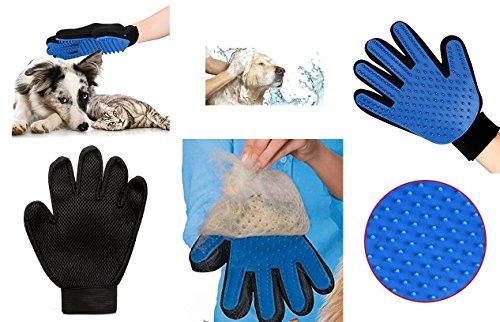 Gant massant pour animaux Brosse Massage Poils Toilettage Chien Chat
