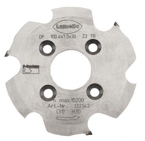 Lamello P-System Nutfräser. Ø 100.4 x7x30 mm (Diamant) | 132142