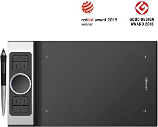 XP-PEN Deco Pro el Último Lanzamiento de la Tableta Hace su Debut como el Ganador del Premio Red Dot Design Award 2019 y el Ganador del Premio Good Design Award 2018 Small y Medium (S)