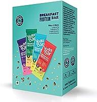 Yogabar Breakfast Protein Variety (Almond Coconut, Apricot & Fig, Blueberry, Apple Cinnamon Bars - 300gm, 6 x 50 g (Box...