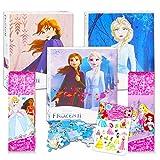 Disney Princess Jigsaw Puzzle for Kids Girls Bundle Princess Activity Set - 5 Pack Princess Jigsaw Puzzles 48 Piece and 24 Piece with Princess Stickers (Princess Toys)
