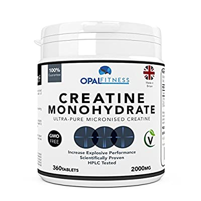 Creatine Monohydrate Tablets | Ultra Pure Micronised Creatine Tablets | Scientifically Proven To Increase Strength, Explosive Performance and Lean Body Mass | HPLC Tested Creatine Pills | OSHUNsport | Limited Time Introductory Offer from OSHUNgroup