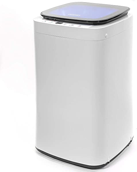 Barton Full Automatic Washing Machine Compact 7 7lbs Laundry Washer Spin With Drain Pump 9 Programs Selections W LED Display
