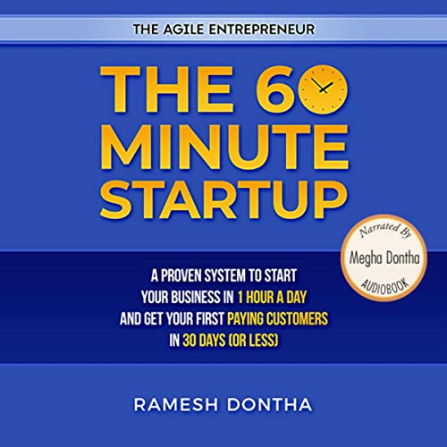 The 60 Minute Startup audiobook cover art