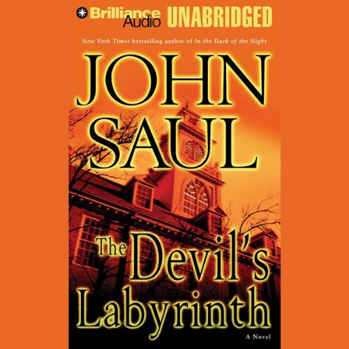 The Devil's Labyrinth audiobook cover art