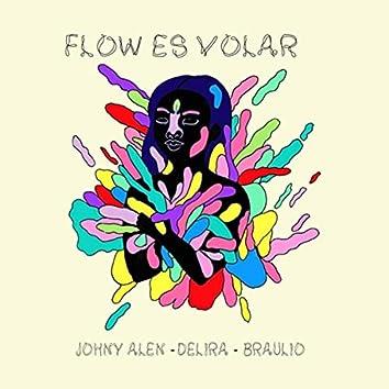 Flow Es Volar (feat. Delira & Braulio)