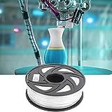 Oumefar Consumibles de Impresora 3D Impresión Accesorios de impresión 3D Blanco 1KG Consumibles de impresión PLA Largo para impresión 3D