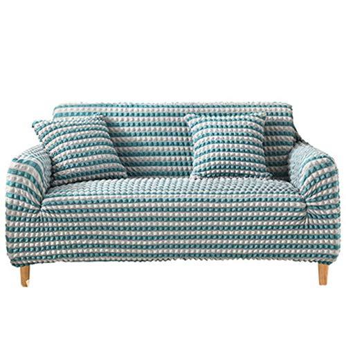 WQF Funda de sofá Fundas universales de 1 Pieza Fundas elásticas para sofá Funda de Almohada 1 Plaza 2 plazas 3 plazas 4 plazas Jacquard Fundas de sofá Ajustadas Funda de sofá de Tela de Burbujas