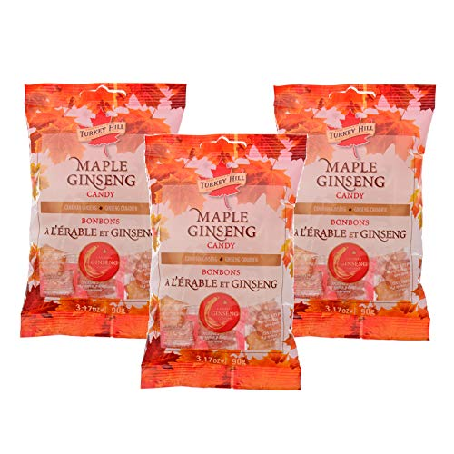 Turkey Hill Maple Ginseng Candy 3 Pack